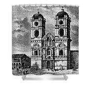 Peru: Jesuit Church, 1869 Shower Curtain