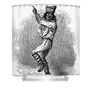 Peru: Native Indian Dancer Shower Curtain