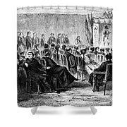Peru: Theater, 1869 Shower Curtain