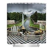 Peterhof Palace 16x9 Shower Curtain