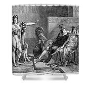 Phaedra And Hippolytus Shower Curtain