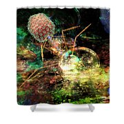 Phage Dreaming 1 Shower Curtain