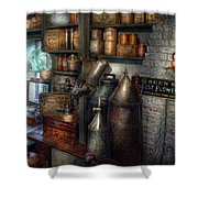 Pharmacy - Tools - August Flowers Shower Curtain
