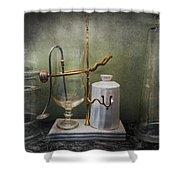 Pharmacy - Victorian Apparatus  Shower Curtain