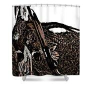 Pheasant Hunt Shower Curtain