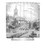 Philadelphia, 1854 Shower Curtain