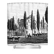 Philadelphia: House, C1800 Shower Curtain