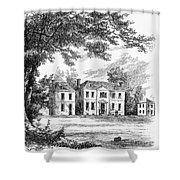 Philadelphia: Mansion Shower Curtain