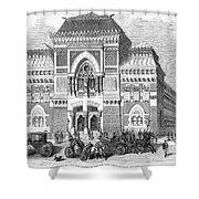 Philadelphia: Museum, 1876 Shower Curtain
