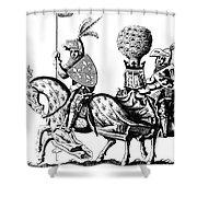 Philip II & Richard I Shower Curtain