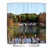 Photo Watercolour Lincoln Woods Ri Shower Curtain