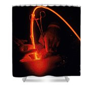 Photodynamic Therapy Shower Curtain