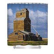 Photograph Of A  Prairie Barn Shower Curtain