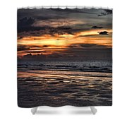 Photographing Sunsets Shower Curtain