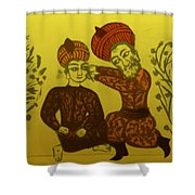 Physician Performing Cataract Operation Shower Curtain