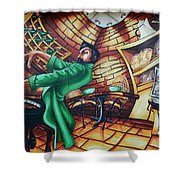 Piano Man 2 Shower Curtain