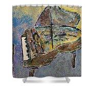 Piano Study 3 Shower Curtain