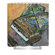 Piano Study 4 Shower Curtain