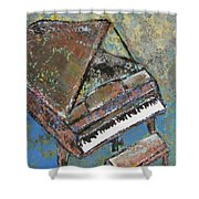 Piano Study 5 Shower Curtain