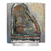 Piano Study 6 Shower Curtain