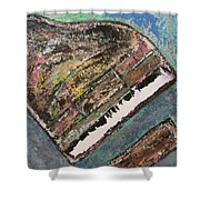 Piano Study 7 Shower Curtain