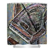 Piano Study 9 Shower Curtain