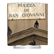 Piazza Shower Curtain