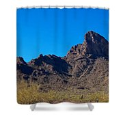 Picacho Peak - Arizona Shower Curtain