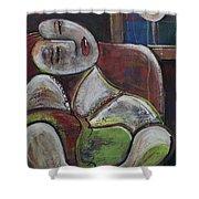 Picasso Dream For Luna Shower Curtain