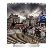 Piccadilly Circus - London Shower Curtain
