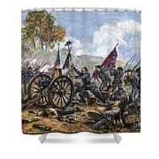 Picketts Charge, 1863 Shower Curtain