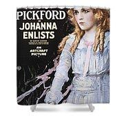 Pickford Film Poster, 1918 Shower Curtain