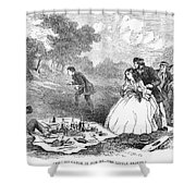 Picnic, 1859 Shower Curtain