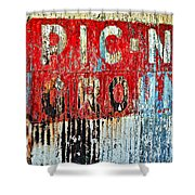 Picnic Ground Shower Curtain
