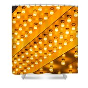 Picture Of Theater Lights Shower Curtain by Paul Velgos
