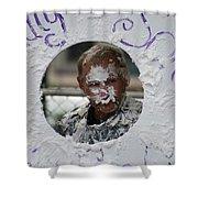 Pie Tossing 03 Shower Curtain