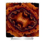 Pieces Of Nature Shower Curtain