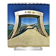 Pier 14 Shower Curtain