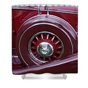 Pierce Arrow Fender Shower Curtain
