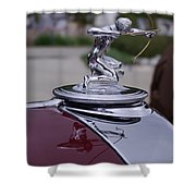 Pierce Arrow Hood Ornament Shower Curtain