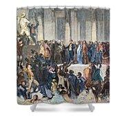 Pierce Inauguration Shower Curtain by Granger