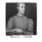 Piero De Medici (1414-1469) Shower Curtain