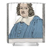 Pierre De Fermat, French Mathematician Shower Curtain by Science Source