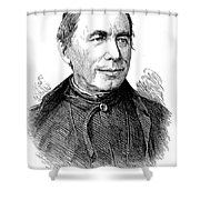 Pietro Angelo Secchi Shower Curtain