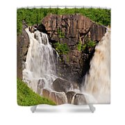 Pigeon River Shower Curtain