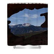 Pikes Peak 2012 Shower Curtain