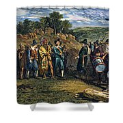 Pilgrims: Massasoit Shower Curtain