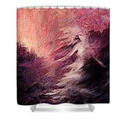 Pillar Of Salt Shower Curtain