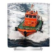 Pilot Boat - Dardanelles-canakkale Shower Curtain