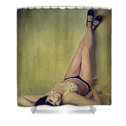 Pin Me Up Shower Curtain by Laurie Search